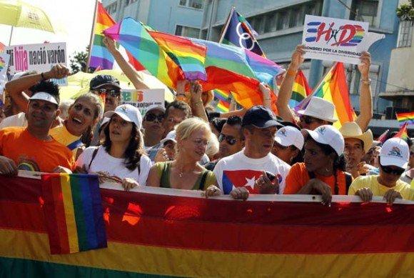 Demo gegen Homophobie, Havanna, 14.5.2011